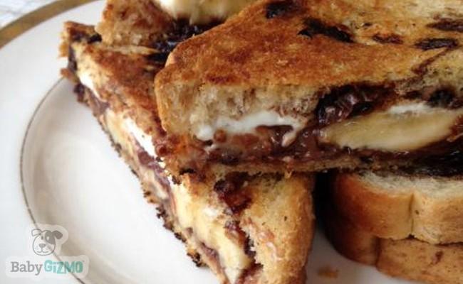 Dessert Grilled Cheese Recipe